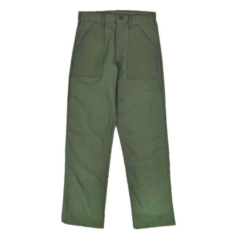 Stan Ray OG Loose Fatigue Trouser Olive Sateen Made in USA front