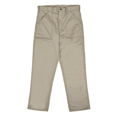 Stan Ray 1100 OG Loose Fatigue Khaki Twill Trouser Made in USA front