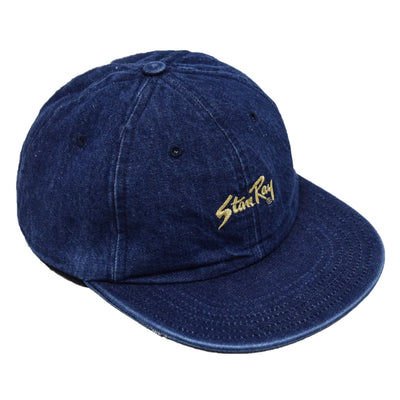 Stan Ray Ball Cap Washed Denim Made In USA front