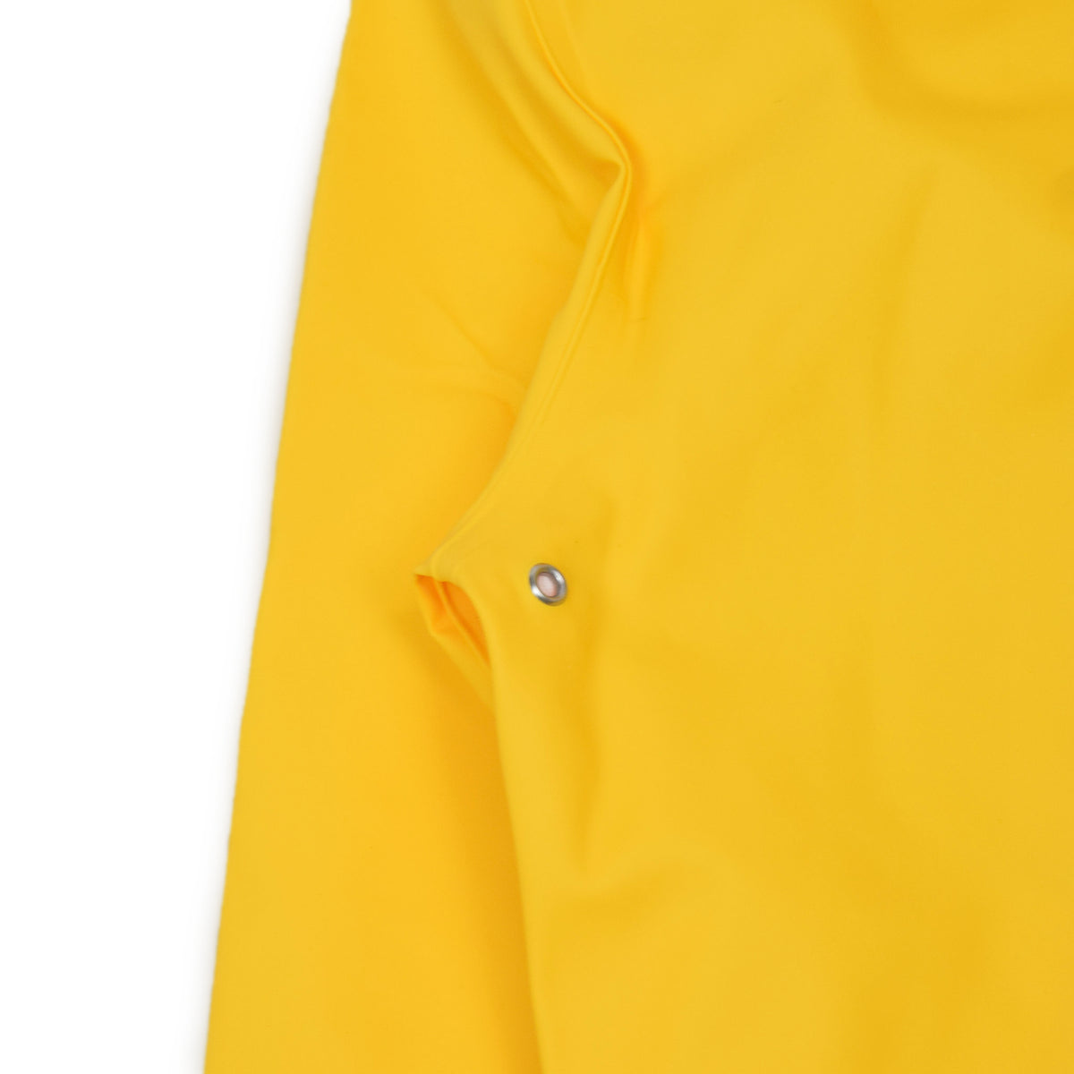 Stutterheim Stockholm Rubberised Raincoat Jacket Yellow Vent