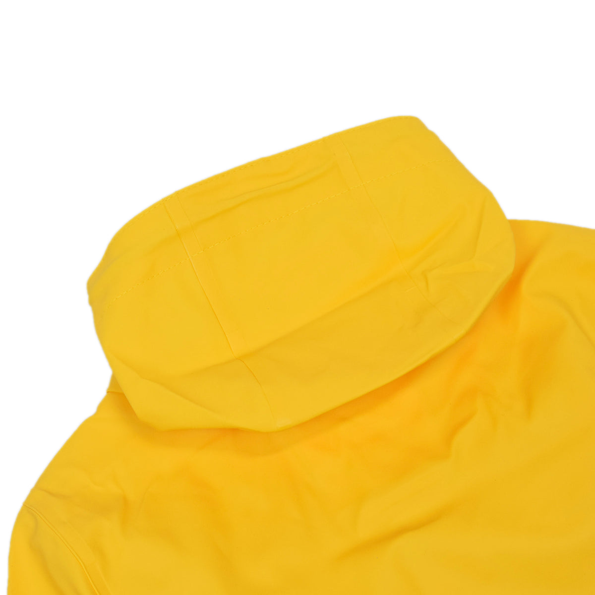 Stutterheim Stockholm Rubberised Raincoat Jacket Yellow Hood