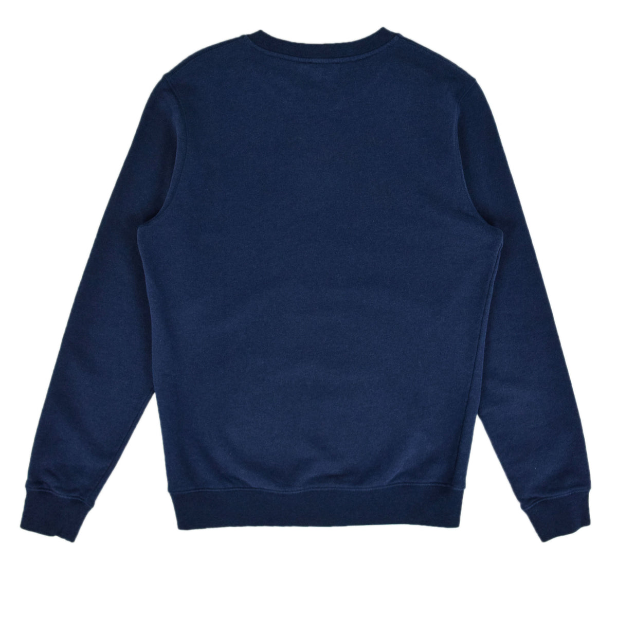 Sunspel Cotton Loopback Sweatshirt Navy