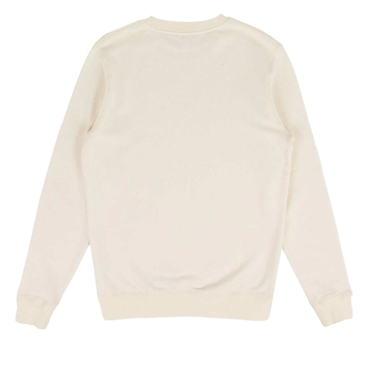 Sunspel Cotton Loopback Sweatshirt Archive White Back