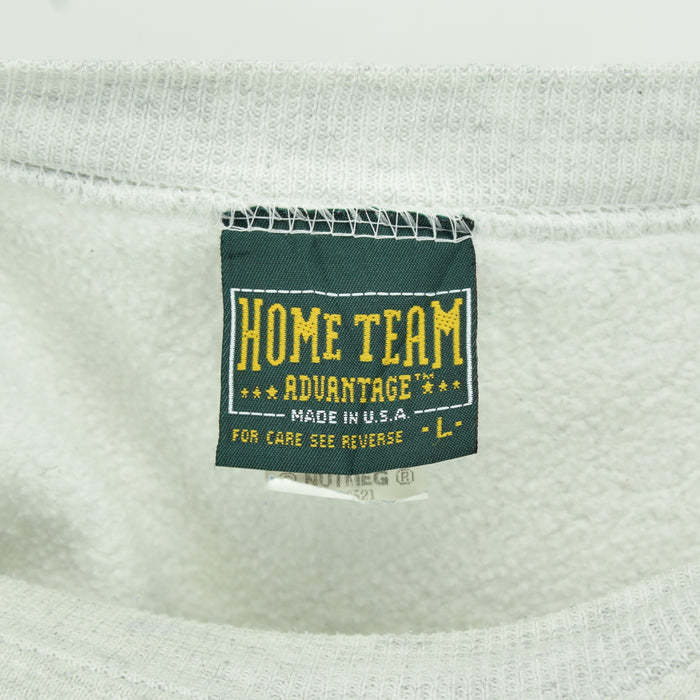 Vintage Home Team Advantage Physical Training Grey Sweatshirt Made in USA L label