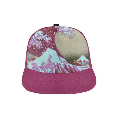 Pink Waves Off Kanegawa Hat