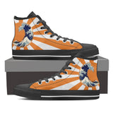 Great Waves of Rising Sun High Tops - Mens