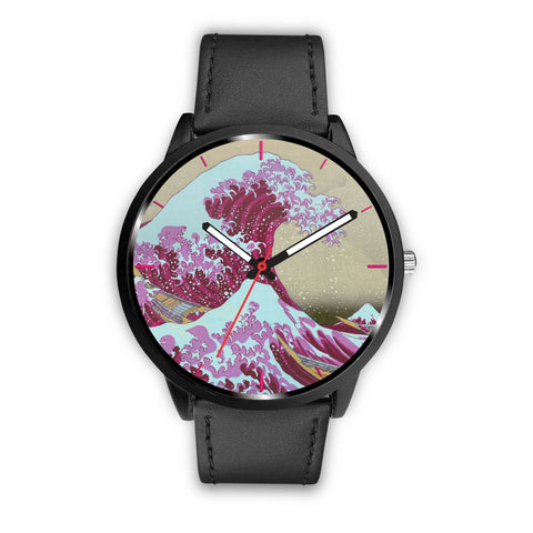 Pink Wave off Kanagawa Watch