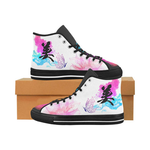 Bi - Beauty Kanji Equil High Tops V2 - Womens