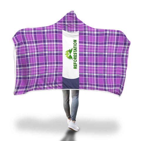 Julia REFORESTATION Hooded Blanket - Unisex v1