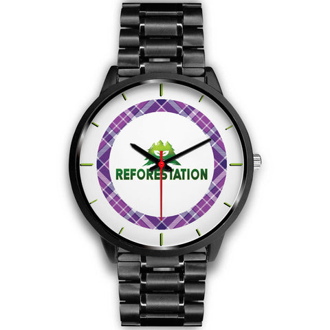 Julia REFORESTATION Watch v2 - Black