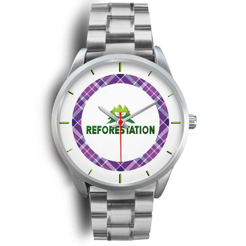Julia REFORESTATION Watch v2 - Silver