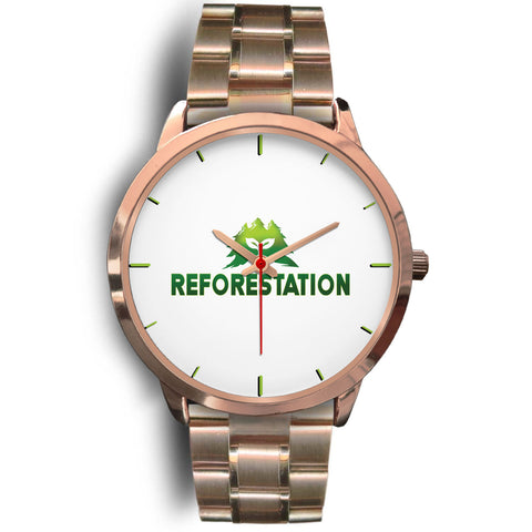 Julia REFORESTATION Watch v3 - Rose Gold