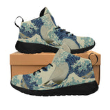 Hokusai Great Wave Equil Sneakers - Mens
