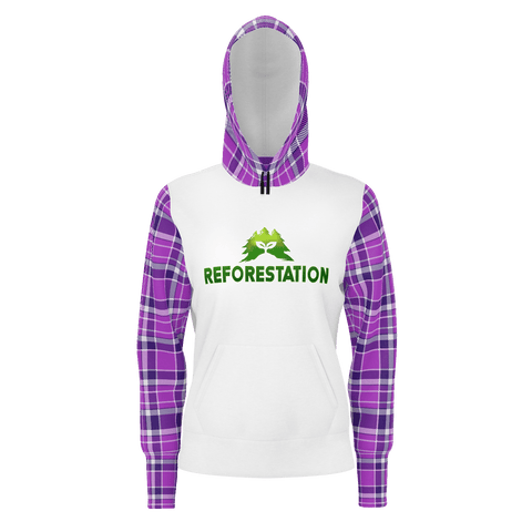 Julia REFORESTATION Equil Pullover Hoodie - Womens v1