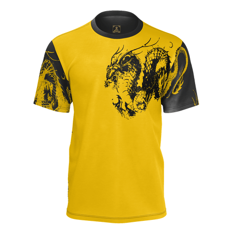 Ryu Dragon Kanji Equil T-Shirt - Mens (Pure Pima Cotton)