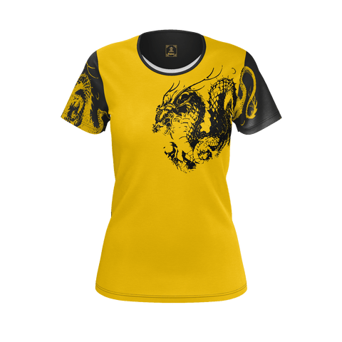 Ryu Dragon Kanji Equil T-Shirt - Womens (Pure Pima Cotton)