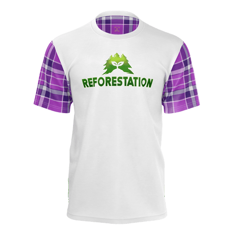 Julia REFORESTATION Equil T-Shirt - Mens - Plaid