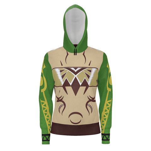 Julia MOTHER NATURE Equil Pullover Hoodie - Womens - Green