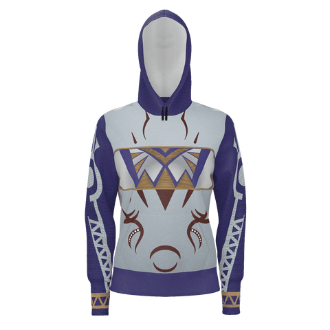 Julia MOTHER NATURE Equil Pullover Hoodie - Womens - Blue