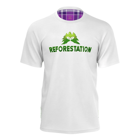 Julia REFORESTATION Equil T-Shirt - Mens - All White