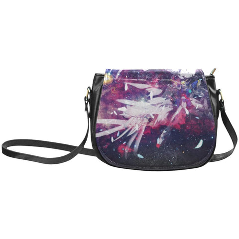 Wing Gundam Leather Saddle Bag - Front