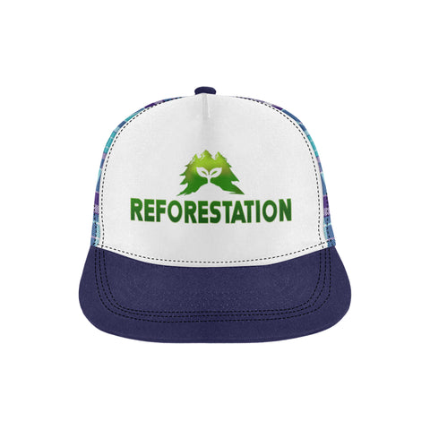 Julia REFORESTATION All Over Print Hat - 2P