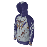 Julia MOTHER NATURE Equil Hoodie - Mens - Blue (260GSM)