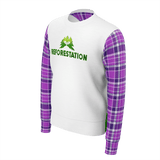 Julia REFORESTATION Equil Sweater - Mens - Plaid