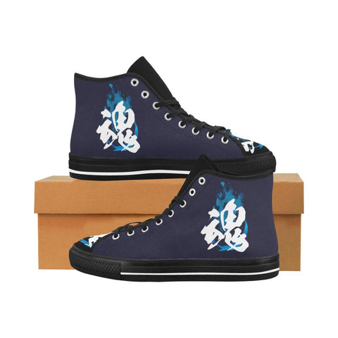 Tamashi - Soul Kanji Equil High Tops - Navy/Multi Color - Mens - Equil Streetwear