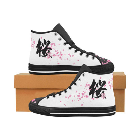 Sakura Kanji Equil High Tops V2 - Womens