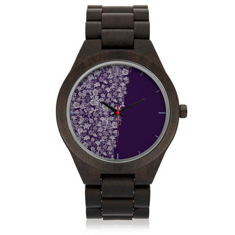 VIOLET'S EXCELLENT WOODEN WATCH