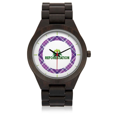 Julia REFORESTATION Wooden Watch - 1P Color