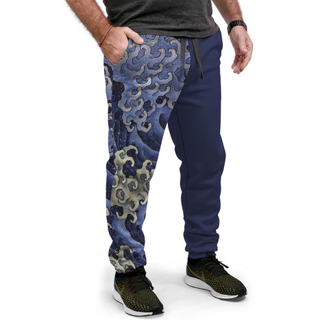 Waves of Hokusai Equil Joggers - Unisex
