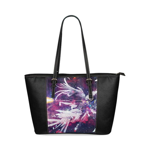 Wing Gundam Leather Tote Bag