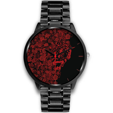 Lee's Excellent Watch with Unicorn - Red Roses