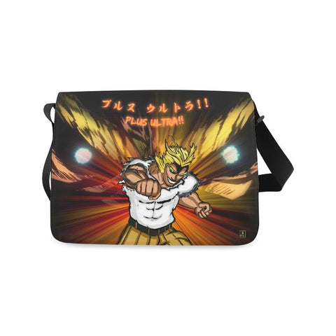 All Might Plus Ultra Messenger Bag - Front