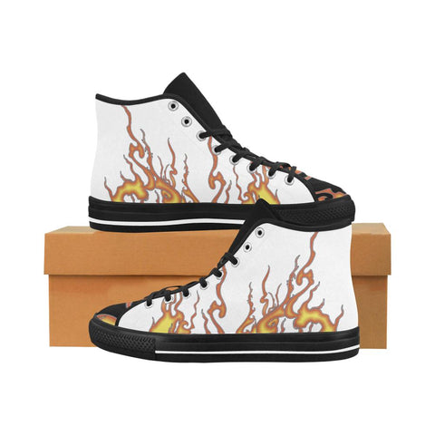 Rising Flames Equil High Tops (Multi) - Mens