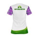 Julia REFORESTATION Equil T-Shirt - Womens - Plaid