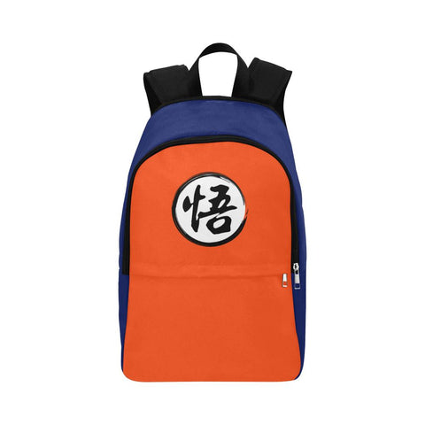 "Dragonball Goku's ""Go"" Kanji Adults Unisex Backpack"