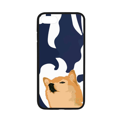 Confucius Shibe - Midnight Blue Phone Cases