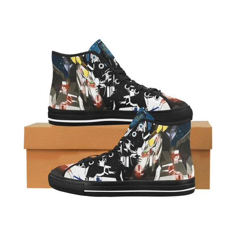 Unicorn Gundam Equil High Tops - Mens