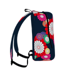 Kiku Floral Pattern Equil Backpack