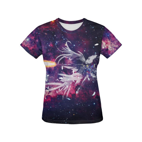 Wing Gundam All Over Print T-Shirt - Womens