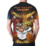 All Might All Over Print T-Shirt - Mens