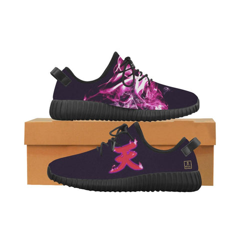 "Akuma's ""Ten"" Kanji Equil Running Shoes - Messatsu Purple - Shoes with box"