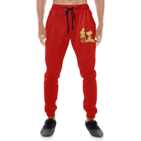 "Paul ""紅"" (Red) Kanji Equil Sweatpants - Mens"