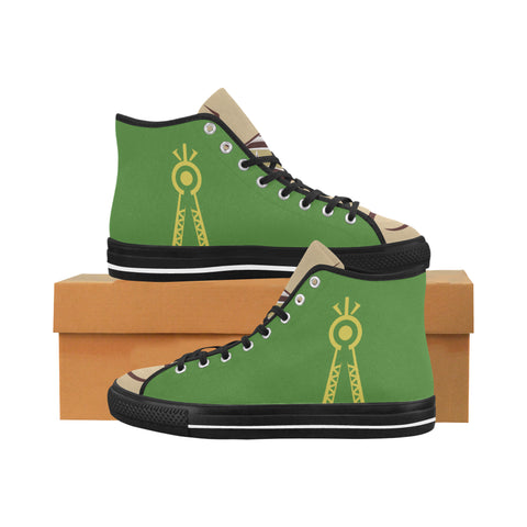Julia MOTHER NATURE Equil High Tops - Mens (Green/Blue)
