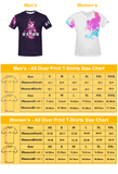 Wing Gundam All Over Print T-Shirt - Womens - Equil Streetwear