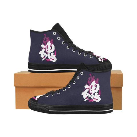 Tamashi - Soul Kanji Equil High Tops - Navy/Multi Color - Womens