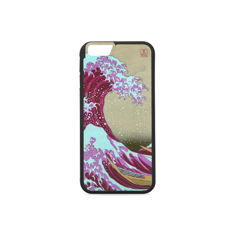 Pink Wave off Kanagawa Phone Cases